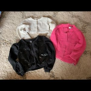 Girls sweater bundle